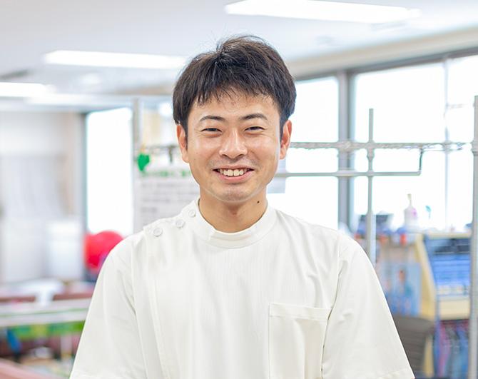 理学療法士 岩佐 龍志