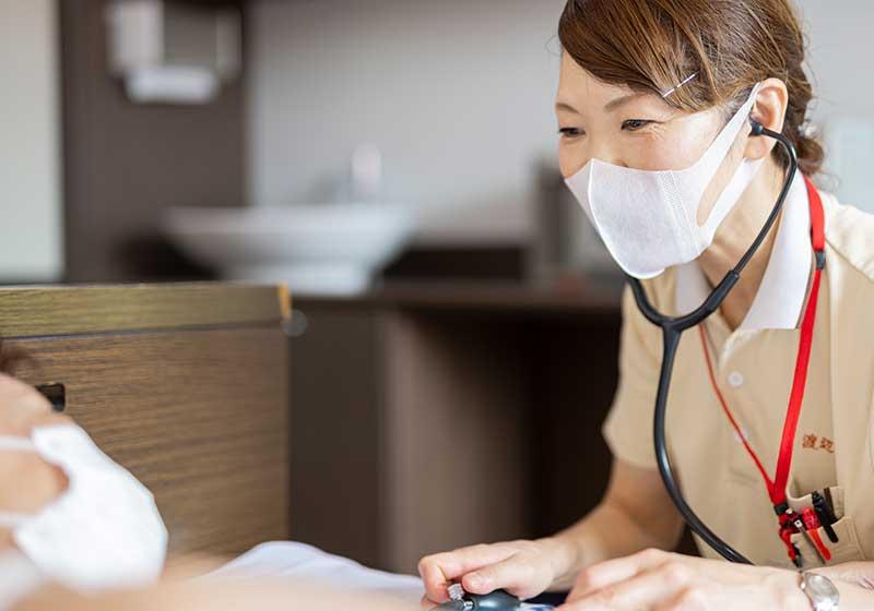 幅広い診療科体制で地域医療に貢献